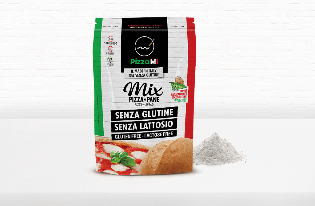 Mix per Pizza e Pane gluten free